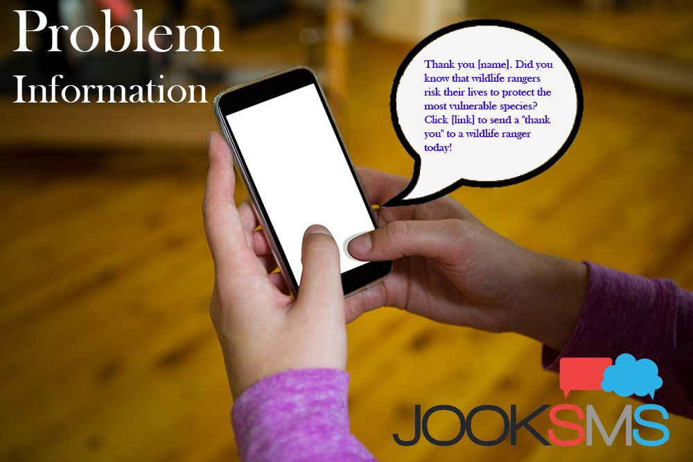 Inform People About Problems with sms