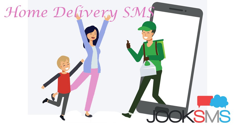 SMS to notify innovations such as home delivery