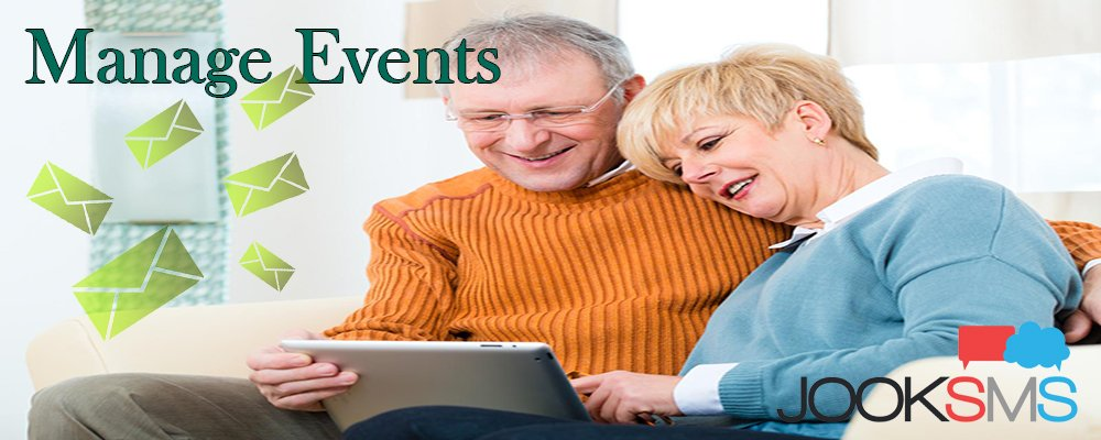 Use SMS To Manage Events