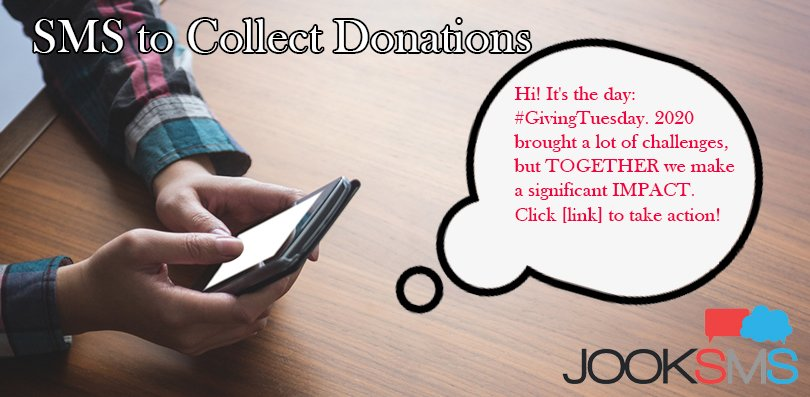 Use SMS to Collect Donations
