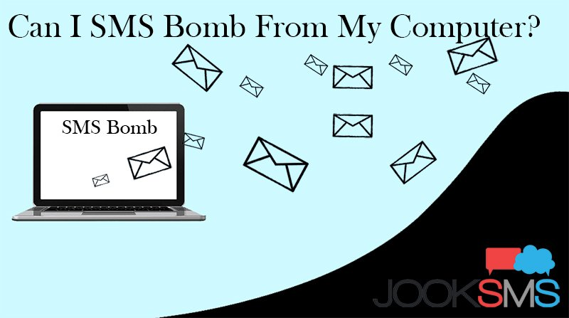 SMS BOMB FROM COMPUTER